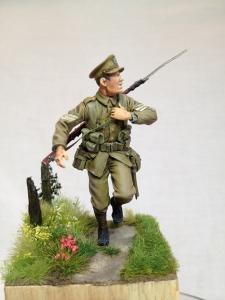 Sergeant, 2nd Battalion Suffolk Regiment, Le Cateau 1914