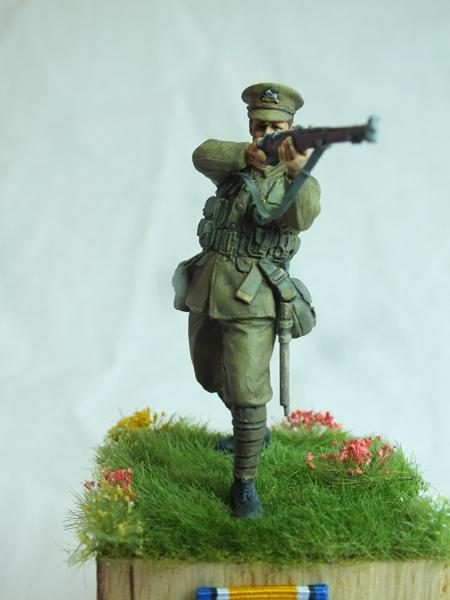 Private - 1st Battalion Lincolnshire Regiment, Mons 1914