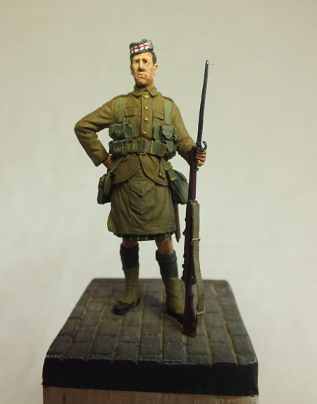 Private - 1st Battalion Gordon Highlanders, Le Cateau 1914