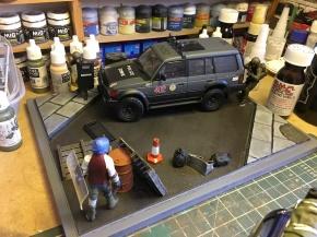 Diorama WIP 1